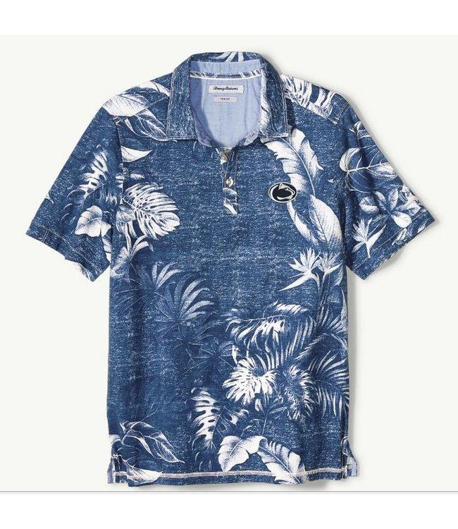 Tommy Bahama PSU Faded Tropical Print Polo