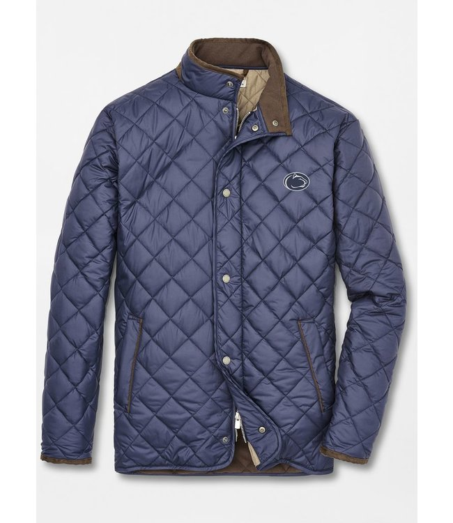 Peter Millar PSU Suffolk Quilted Jacket