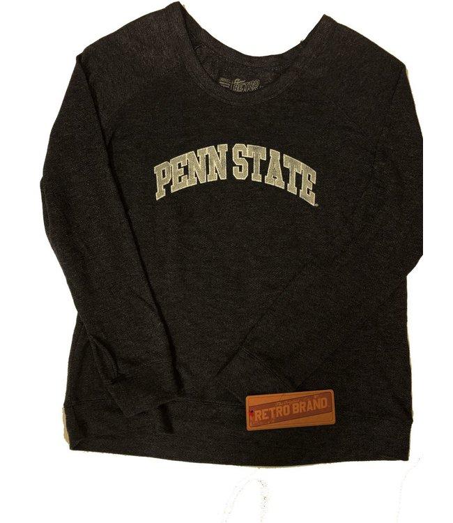 Original Retro Brand WOMENS Scoop Neck PSU Sweatshirt
