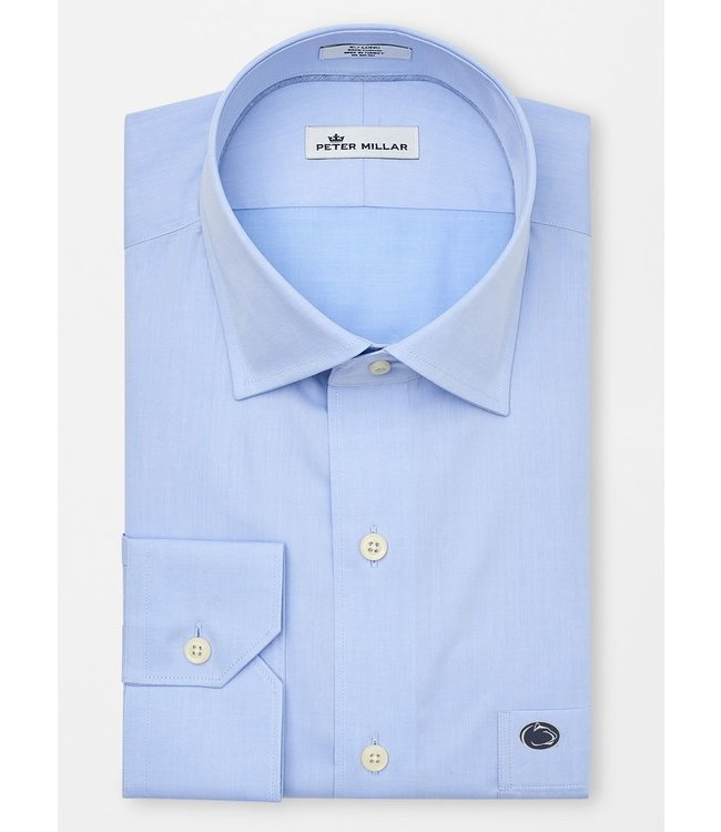Peter Millar PSU Crown Soft Solid Dress Shirt