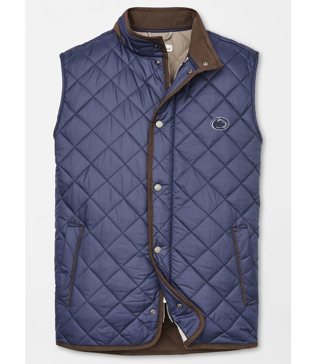 Peter Millar PSU Essex Quilted Vest