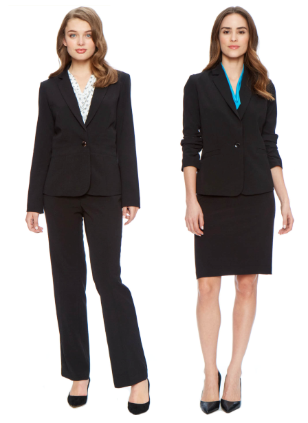Harpers has interview suits for men and women