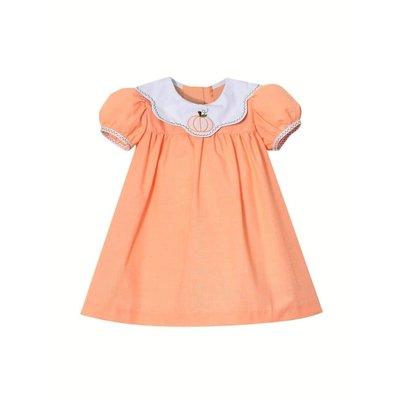 Zuccini Pumpkin Shadow Embroidered Dress
