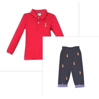 Zuccini Labrador Embroidered Pant Set