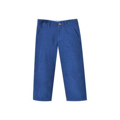 Zuccini Royal Blue Cord Basic Dress Pants