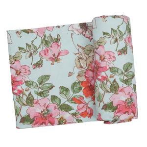 Angel Dear Woodland Rose Swaddle Blanket
