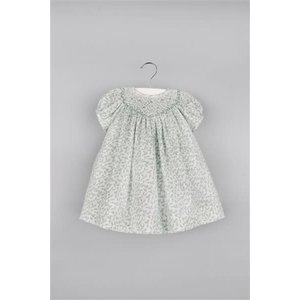 Luli & Me Oak Leaves Smocked Bishop