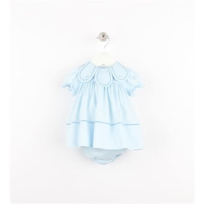 Sophie & Lucas Blue Starry Petal Dress