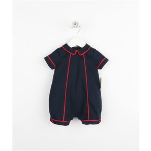 Sophie & Lucas Navy Cozy Cord Boy Bubble