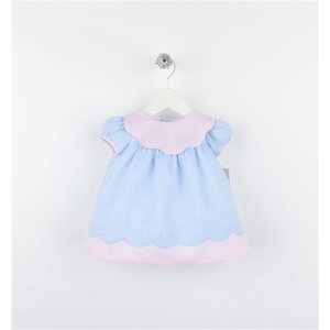 Sophie & Lucas Candyland Scallop Dress