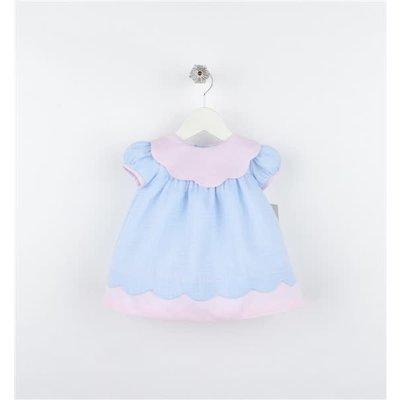 Sophie & Lucas Candyland Scallop Dress