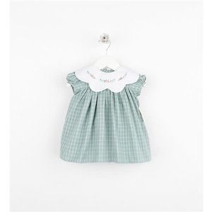 Sophie & Lucas Green Ashford Plaid Dress