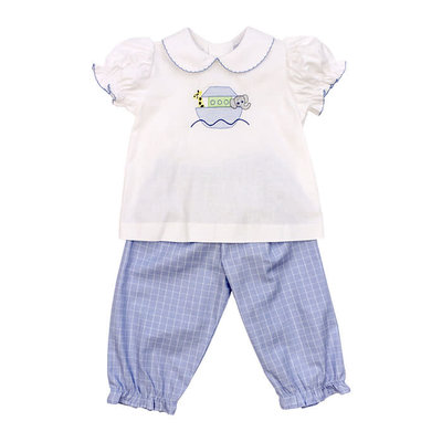 Bailey Boys Noah's Ark Girls Pant Set