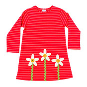 Bailey Boys Flower Knit Dress