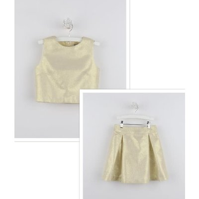 Gabby Gold Metallic New Year Set