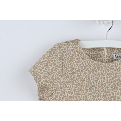 Gabby Leopard Knit Shift Dress
