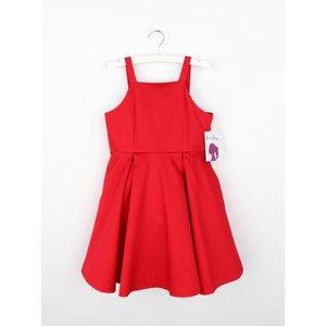 Gabby Red Serena Satin Dress