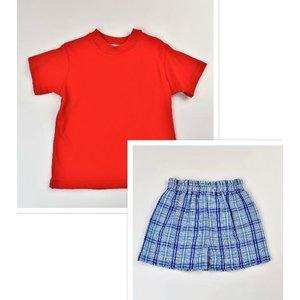 Funtasia, Too Red Plaid Short Set