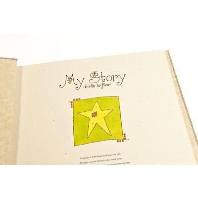 Hugs & Kisses XO, LLC Yellow Dream Memory Book