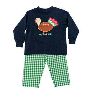 Bailey Boys Touchdown Turkey Boys Pant Set