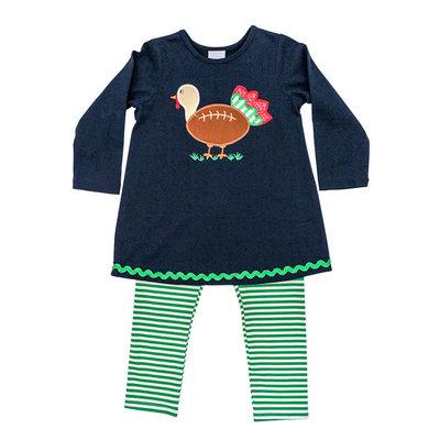 Bailey Boys Touchdown Turkey Tunic Pant Set