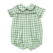 Bailey Boys Sage Check Dressy Short Bubble