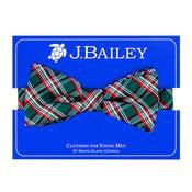 J Bailey Holly Plaid Bow Tie