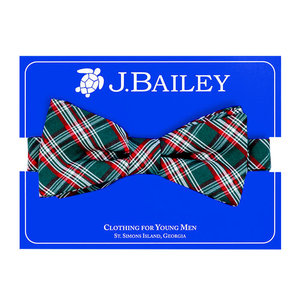 J Bailey Holly Plaid Bow Tie