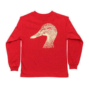 J Bailey Duck on Cayenne Logo Tee