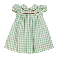 Bailey Boys Sage Check Float Dress
