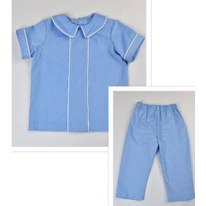 Funtasia, Too Lt Blue Corduroy Dress Pant Set