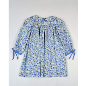 Funtasia, Too Blue Floral L/S Dress