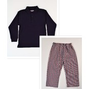 Funtasia, Too Navy/Red Polo Pant Set