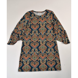 Maggie Breen Paisley Knit Dress