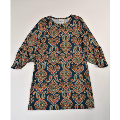 Maggie Breen Paisley Knit Dress