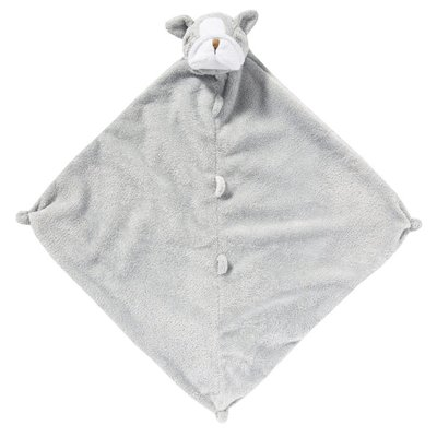 Angel Dear Blankies- Grey Bulldog