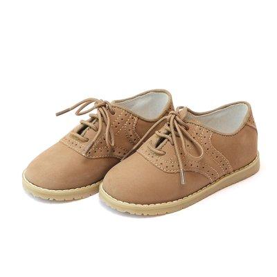 L'Amour Khaki Saddle Shoe