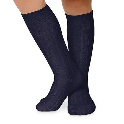 Jefferies Socks Cable Knee Sock