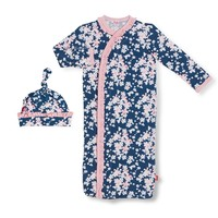 Magnificent Baby Aberdeen Modal Magnetic Gown & Hat