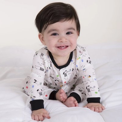 Magnificent Baby Raise the Woof Modal Magnetic Coverall