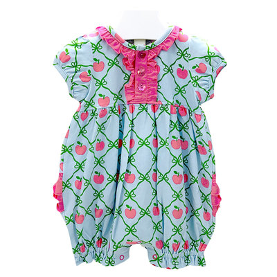 Tara Collection Apple Girl Romper