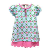 Tara Collection Apple Girl's Short Set