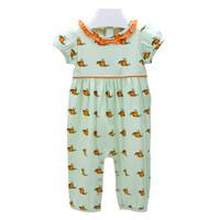 Ishtex Textile Products, Inc Pumpkin Girl Romper