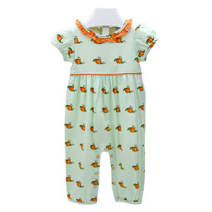 Ishtex Textile Products, Inc Pumpkin Girl Romper