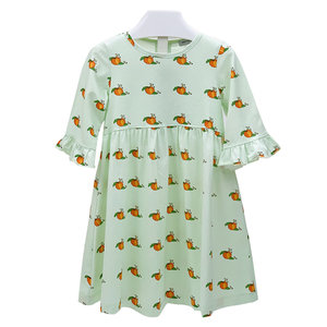 Ishtex Textile Products, Inc Pumpkin Empire Dress
