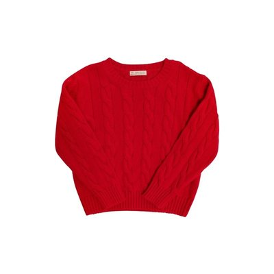 Beaufort Bonnet Company Richmond Red Crawford Crewneck Sweater