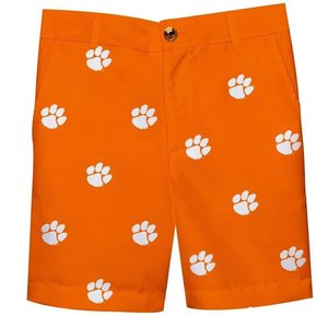 Vive La Fete Clemson Embroidered All Over Short