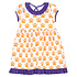 Magnolia Baby Orange Pawprint S/S Dress