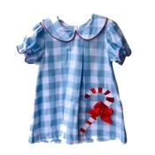 Honesty Clothing Company Candy Cane Applique Dress