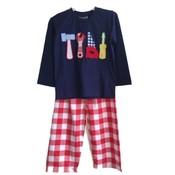 Honesty Clothing Company Tool Applique Pant Set